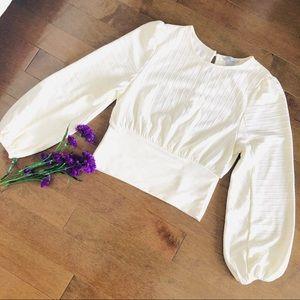 🟡2/$30 | H&M | Puffy sleeve blouse